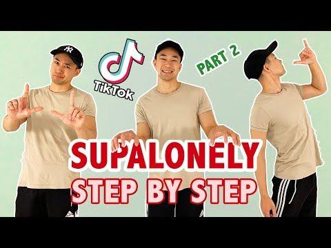 SUPALONELY SLOW TUTORIAL (PART 2) | TIK TOK DANCE