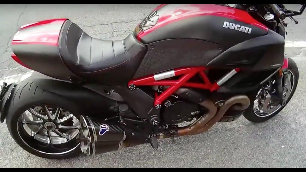 Ducati Diavel Carbon 2015 Youtube