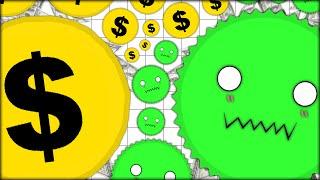 CHING $$ CHING $$ MONEY $$ MONEY! NEW LITTLE CUTE AGARIO VIRUSES! (ADDICTIVE GAME - AGAR.IO #51)