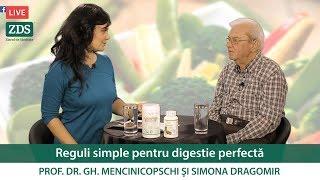 Top 10 sfaturi pentru dietă ușoară! Prof. Dr. Mencinicopschi