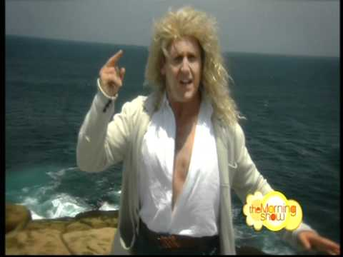 Larry Emdur on The Morning Show Does Michael Bolton