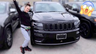 SURPRISING MY GIRLFRIEND WITH HER DREAM CAR **SHE CRIES**
