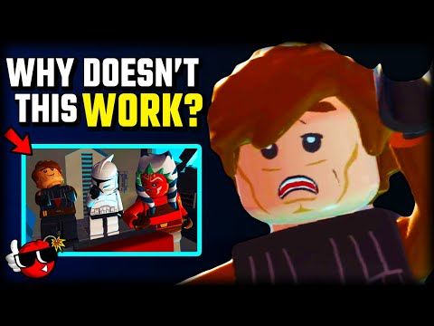 Lego Star Wars is COMPLETELY BROKEN |