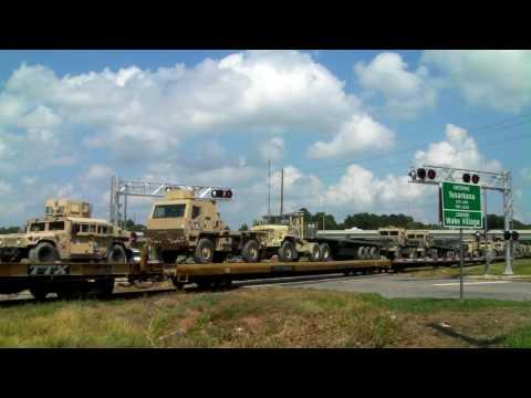 Texas Northeastern RR (CORP 3860) military at Texarkana, Tx. 07/13/2010 ©