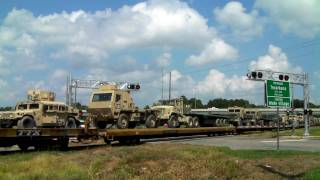 Texas Northeastern RR (CORP 3860) military at Texarkana, Tx. 07/13/2010 ©