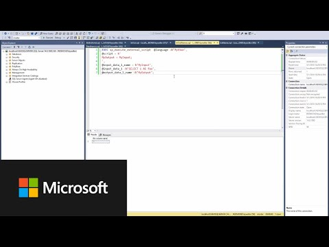 How to Execute R/Python in SQL Server with Machine Learning