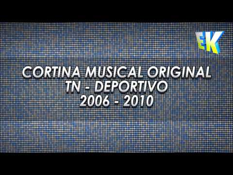 TN - Cortina Musical Original - TN Deportivo (2006 - 2010)