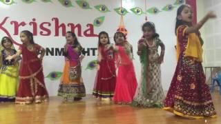 KG 2C Children Dance Gracefully To Celebrate Krishna Janmashtami