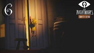 Little Nightmares прохождение на геймпаде часть 6 Жрушарики в гостях у Гейши