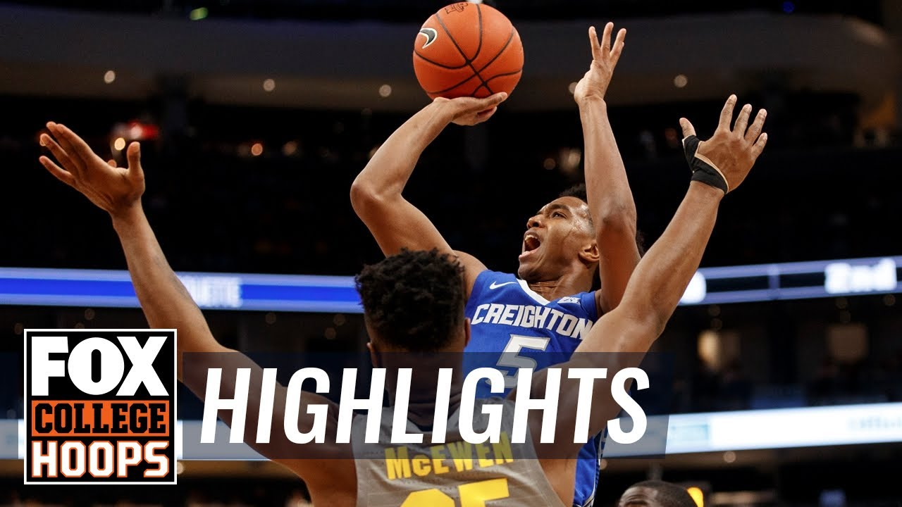 No. 15 Creighton stays red hot, tops No. 19 Marquette 73-65  HIGHLIGHTS