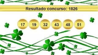 sorteio resultado mega sena 1826 Palpite 1827