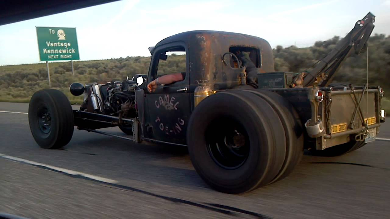 Rat Rod Cruise Build New Epic Rat Rods Tow Truck Youtube
