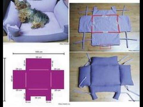 Moldes para hacer camas para perros youtube for Como hacer una cama japonesa paso a paso
