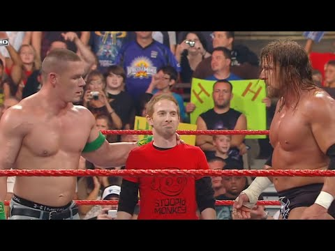Seth Green, John Cena & Triple H vs. The Legacy: Raw, July 13, 2009