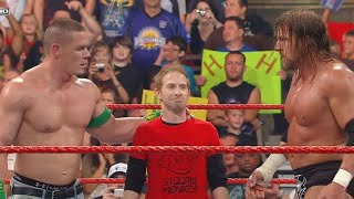 Seth Green, John Cena & Triple H vs. The Legacy: Raw, July 13, 2009 thumbnail