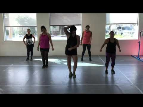 Backin It Up By Pardison Fontaine Ft Cardi B || Cardio Dance Party With Berns
