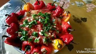Бессарабская манджя с перцем.Любимое летнее блюдо!!!