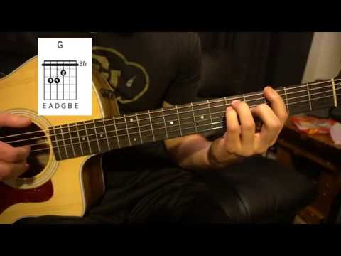 Easy Guitar Lesson (W/Chords!) // Shawn Mendes // Because I Had You ...