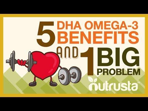 DHA Omega-3 Fish Oil: 5 Benefits for Brain, Eyes, Heart Health (& 1 BIG Problem)