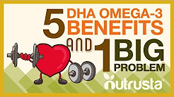 DHA Omega-3 Fish Oil: 5 Benefits for Brain, Eyes, Heart Health (& 1 BIG Problem)