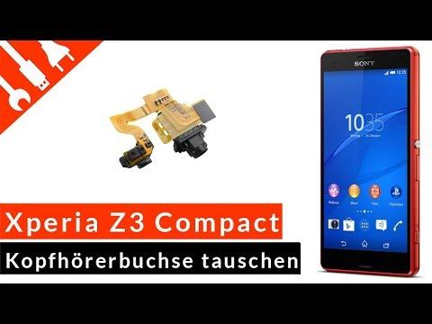 SONY XPERIA Z3 COMPACT Kopfhörerbuchse wechseln - günstige DIY Reparatur