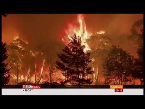 Weather Events 2019 – Bush fire 'Crowning' mesmerising people (Australia) – BBC – 16th December 2019