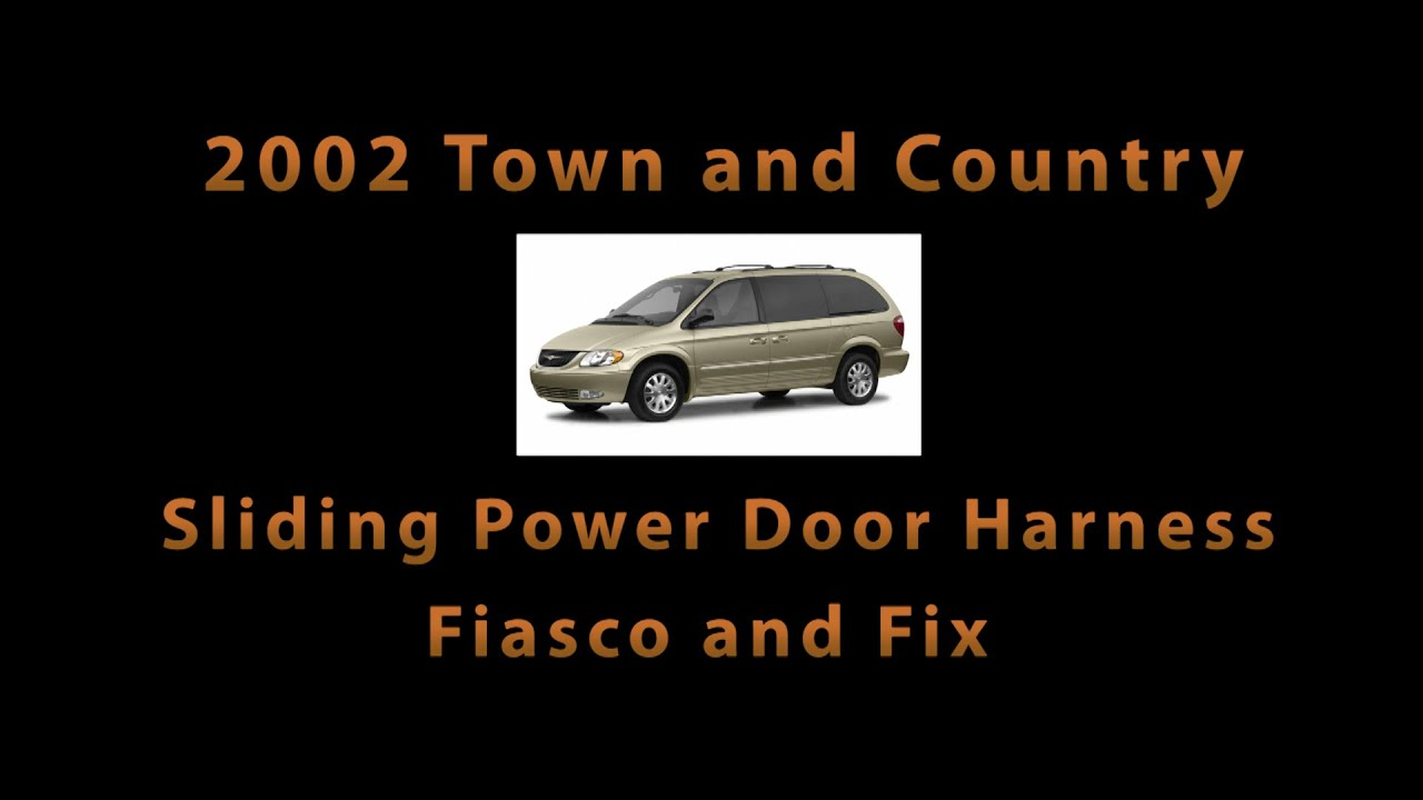 maxresdefault 2002 town and country sliding power door harness part problems  at gsmportal.co