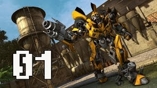 Transformers: Dark of the Moon Walkthrough Part 1 Chapter 1 Gameplay No Commentary