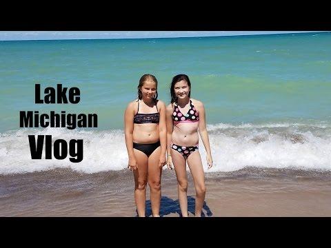 Lake Michigan vlog