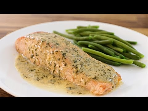 Salmon With Lemon Butter Sauce Recipe