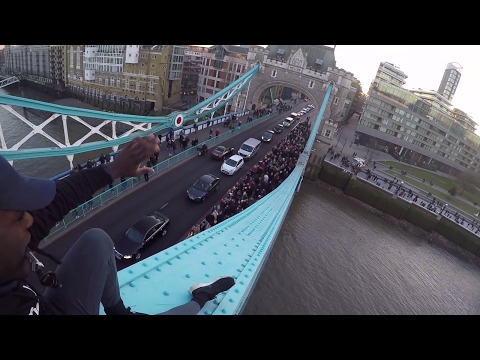 Climbing Tower Bridge (GoPro POV)