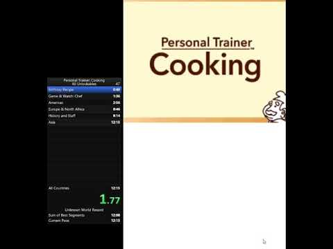 Personal Trainer: Cooking All Unlockables Speedrun In 11:59 Minutes