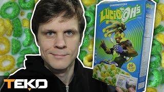 Lucio-Oh's! Prawdziwe Płatki Śniadaniowe Overwatch!