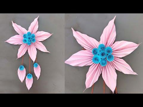 DIY Wall Hanging Decoration | Room Decor Crafts | Paper Craft Ideas
