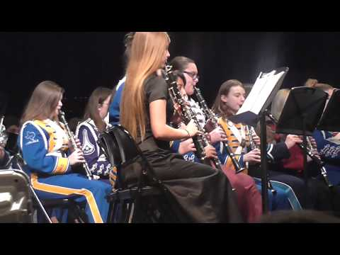 All Region Symphonic Band Performance 2018 (Region 21)