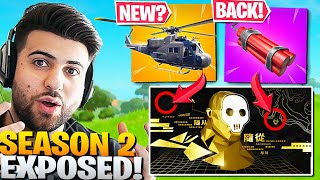 ALL Fortnite Season 2 Teasers EXPLAINED! (NEW ITEMS REVEALED!) - Fortnite Battle Royale