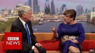 Emily Thornberry nearly drops the 'b bomb'      BBC News