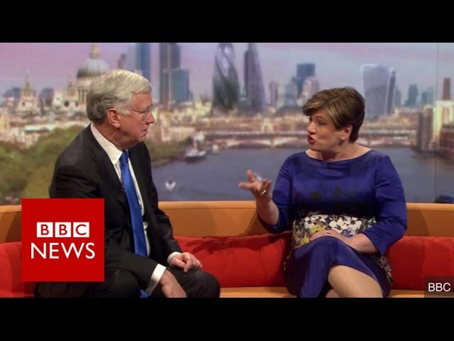 Emily Thornberry nearly drops the 'b bomb'... - BBC News