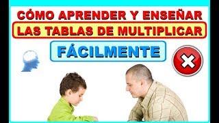 LAS TABLAS DE MULTIPLICAR - Una forma fácil de aprenderlas y enseñarlas - www.supermente.net thumbnail