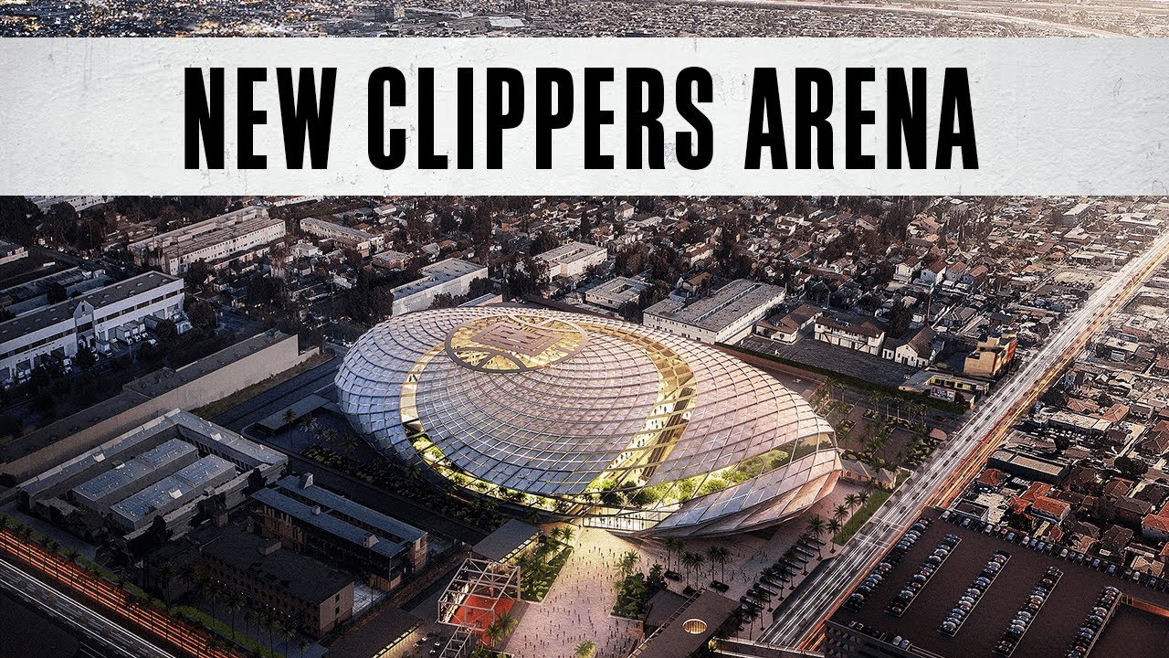 First Look: Clippers Arena Inglewood - YouTube