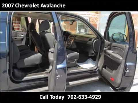 Sunrise Auto Sales Las Vegas >> 2007 Chevrolet Avalanche Used Cars Las Vegas NV - YouTube