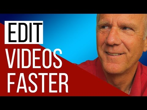 How To Edit Your Videos For YouTube (FASTER)
