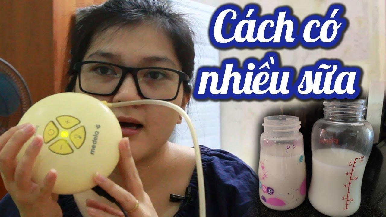 Làm sao NHIỀU SỮA sau sinh? Cách gọi sữa về sớm & nhiều❤️từ 1 giọt lên 1 lít 1 ngày❤️  #cachhutsua