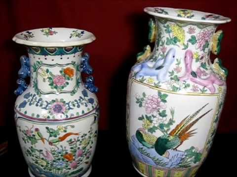 14 Antique Porcelain Vases From Qing Dynasty China Youtube