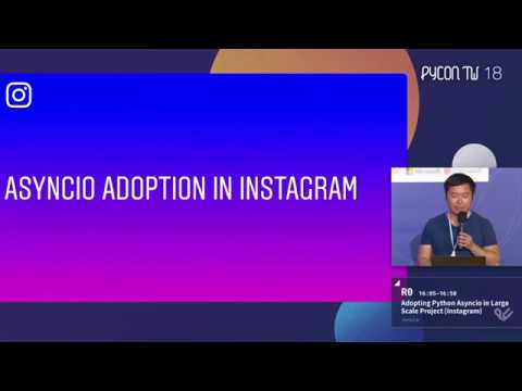 Image from Adopting Python Asyncio in Large Scale Project (Instagram) – Jimmy Lai – PyCon Taiwan 2018