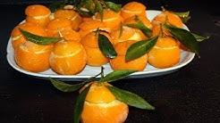 mandarines givrees