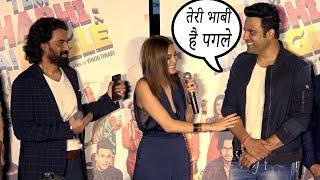 krishna abhishek Live comedy Performance teri bhabhi hai pagle movie Trailer lounch