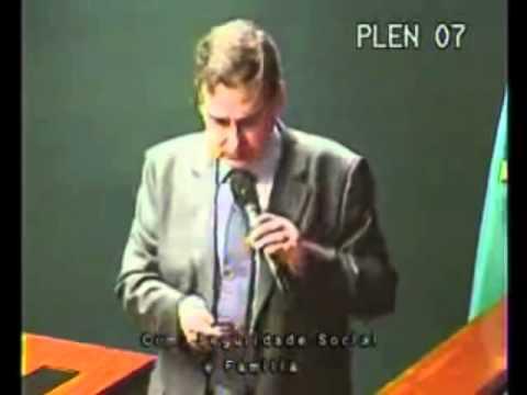 Intervento del dottor Coimbra presso la Camera dei Deputati di Brasilia
