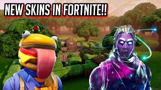 *NEW* LEAKED SKINS IN FORTNITE!!! 5.2 UPDATE! (IN GAME FOOTAGE)
