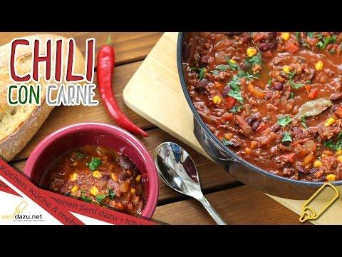 Chili con Carne Rezept - Leckeres Pfannengericht einfach selber machen